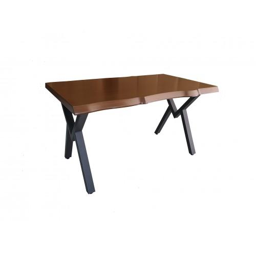 Ξύλινο Τραπέζι 140x80x78 Timber Εσωτερικού Και Εξωτερικού Χώρου / tim-101